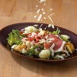 ハモンセラーノ・ミックス豆・カリフラワーサラダ
