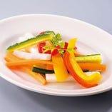 野菜のレモンマリネ