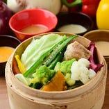 10種の蒸し野菜