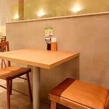 2人だけの空間でゆっくりお食事を◎【テーブル席(1~2名様)】