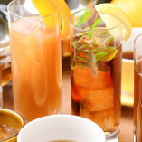当店オリジナル!10種のフレーバーを使用した紅茶カクテルが自慢