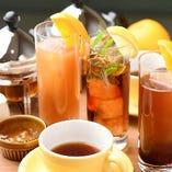 ◇ こだわりの紅茶 ◇ 厳選した茶葉を使用した当店オリジナルの紅茶カクテル