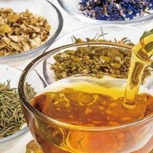 さまざまなフレーバーティーをお楽しみください♪ 平日ランチは無料サービス!『10種類の紅茶飲み放題』