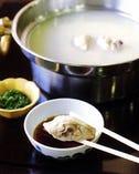 季節限定 水炊きコース(大鍋)〈4月~10月 個室〉 ¥8800