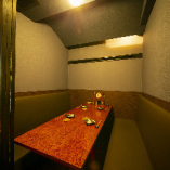 1階【テーブル席/1~6名様まで】プライベート感◎ゆったりと語り合いたいお食事に