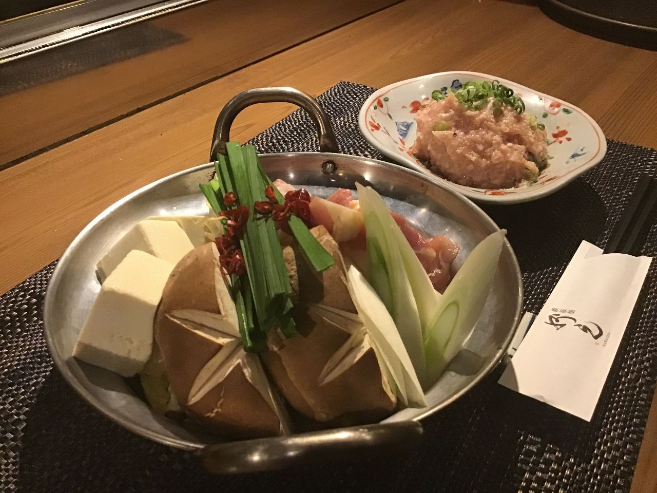 おすすめ近江軍鶏使用 白鶏鍋
