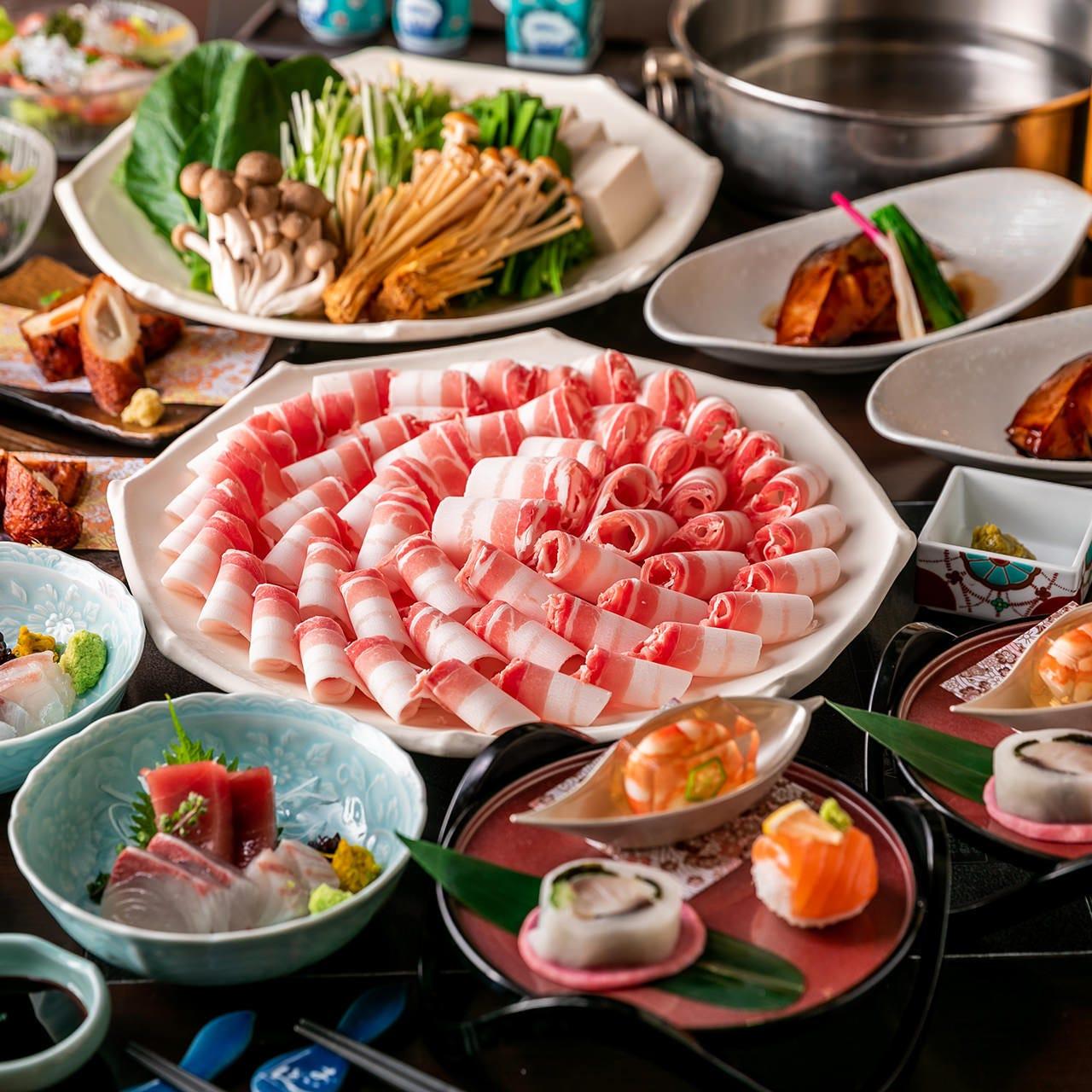 鍋料理や九州の郷土料理を堪能できるお得なコースをご用意!