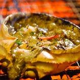 蟹身たっぷり!蟹味噌甲羅焼き(写真はイメージです)