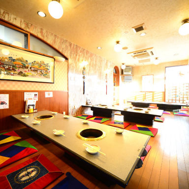 黒毛和牛焼肉×秘伝のタレ ソウルカルビ 岡崎本店 店内の画像