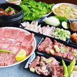 韓国宮廷料理を贅沢に楽しめるコースもご用意!