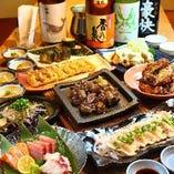 【居酒屋宴会定番】海鮮と焼き鳥にこだわったコースで個室宴会!