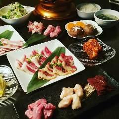 和牛肉タワー 焼肉食べ放題 焼肉の肉盛屋 渋谷本店