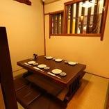 テーブル半個室(~6名様)