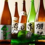 獺祭や十四代などプレミアム日本酒【山口県】