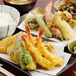 王様の天ぷら定食(限定8食)