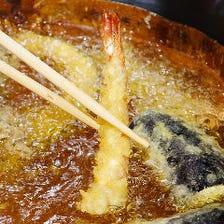 【選べる天ぷら3種300円!】コロナ支援!当店自慢の天ぷらがほぼ全品対象!まず食べて当店の味を知って下さい!