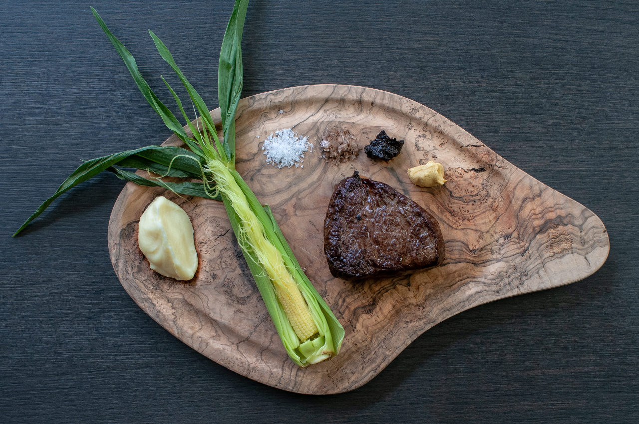 【選べる前菜つき】ニュージーランド産牛フィレ肉のステーキ