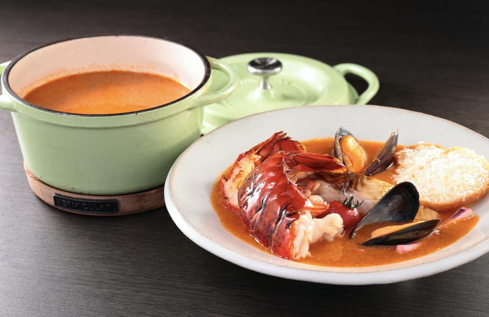 【選べる前菜つき】魚介のブイヤベース