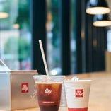 美味しいコーヒーを1日中ご提供♪カフェタイム/7:00~20:00