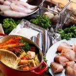 柳橋中央市場より毎朝仕入れた新鮮魚介を使用した逸品がずらり!
