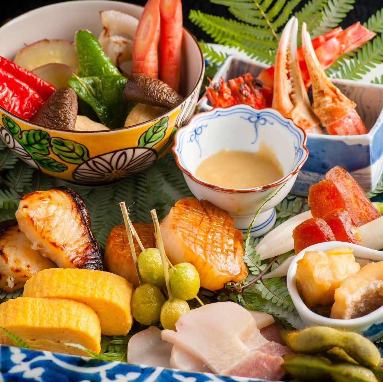 本格日本料理をご家庭で! 旬食材を贅沢に楽しむオードブル