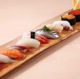 寿司で一杯いかがでしょうか?