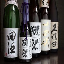 厳選地酒【50種】以上
