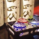 全国から厳選した日本酒をお楽しみください