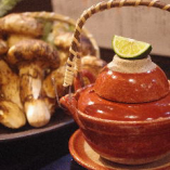 土瓶蒸し(鶏スープ入り)