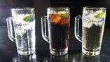 日本酒ハイボール(コーラ・ジンジャー・プレーン)