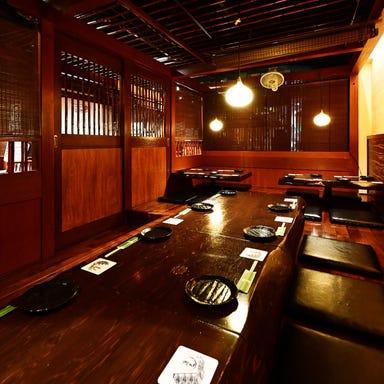 本格串焼とへぎそば 濱匠 錦本店 店内の画像