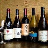 【日本ワイン】 和食に合わせた優しい味わいの日本ワイン