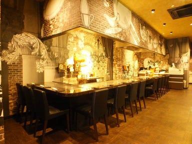 神戸牛鉄板焼ステーキ 大地  店内の画像