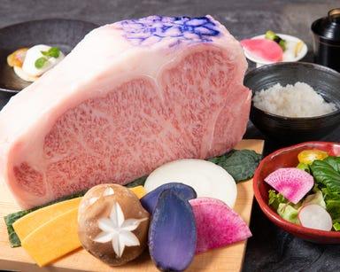 神戸牛鉄板焼ステーキ 大地  コースの画像