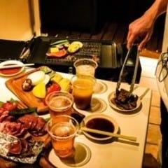 リゾートなテラスで楽しむ絶品BBQ