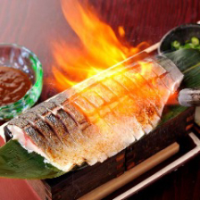 【名物】金華鯖の炙りしめ鯖