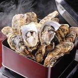 石巻産牡蠣のカンカン焼き お客様から大好評