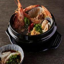 """韓国貝鮮鍋 """"チョゲチョンゴル"""""""