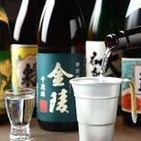 当店では全国各地の日本酒を取り揃えております。