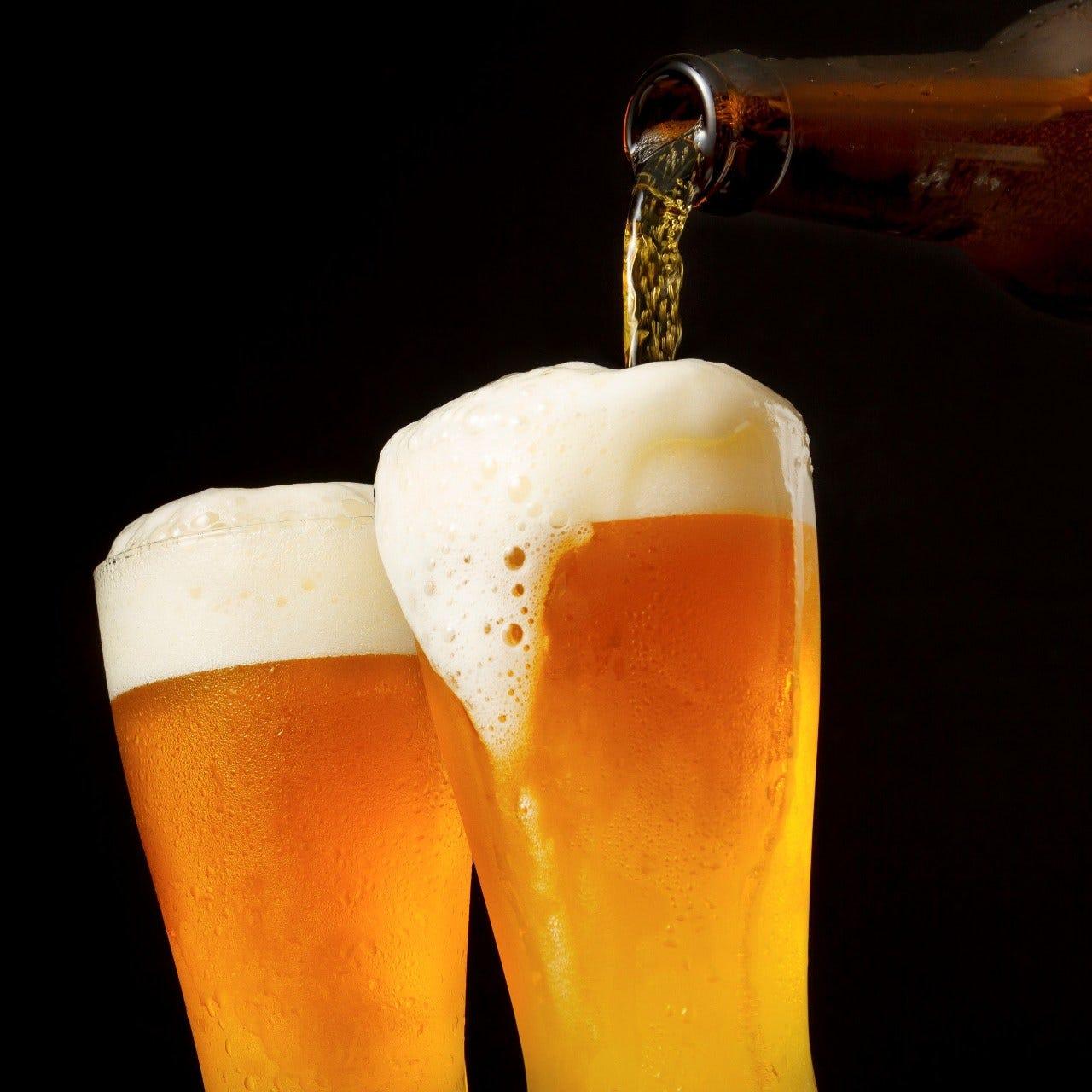 生ビールから紹興酒まで飲み放題♪