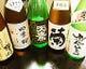 栃木の地酒。飲み比べセットもあります。