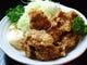ランチの一番人気メニューは「唐揚げ定食」