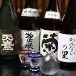 栃木の厳選地酒も豊富!5~6種類ございます♪
