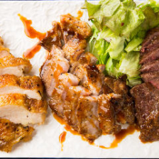 ◆鹿児島県特産の肉をどうぞ!