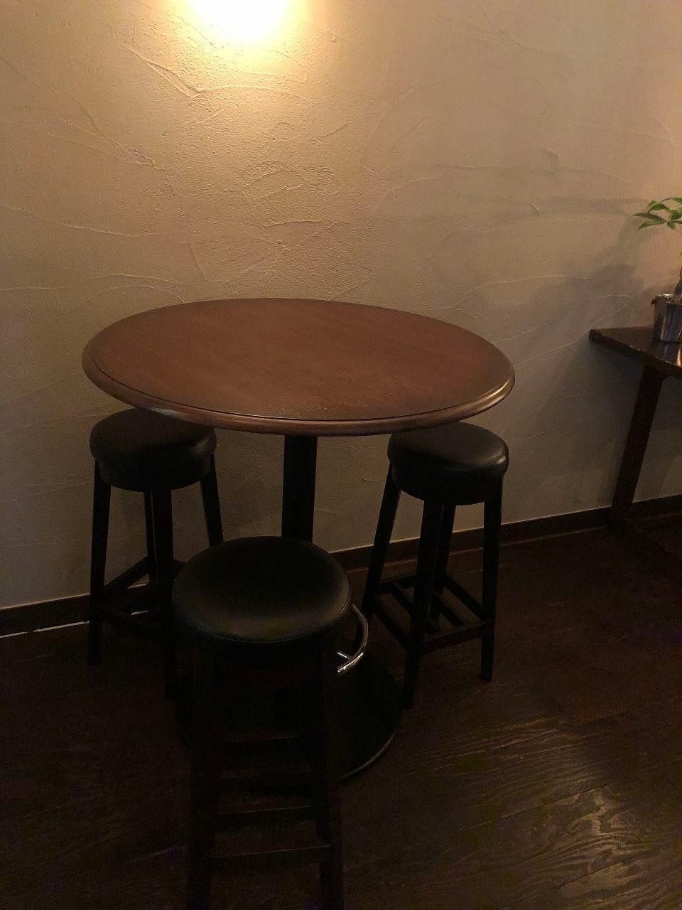 【席のみ予約できます】1〜3名様 テーブル席