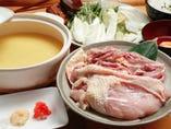 水炊き鍋、最後の雑炊は野菜と肉の旨みが凝縮し本当におすすめ!
