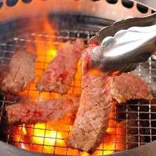 【焼いて飲んでお得な焼肉宴会♪11品】120分飲み放題付!4000円(税込)コース