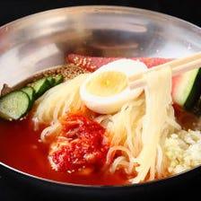 スープ・麺にこだわり抜いた絶品冷麺