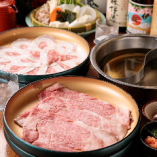 【2H食べ放題】上牛肉か国産豚を選択「しゃぶしゃぶ・食べ放題プラン」(全3品)各種宴会・食事会