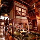 優雅な造りが自慢の当店を100〜130名様で店舗貸切可能です!